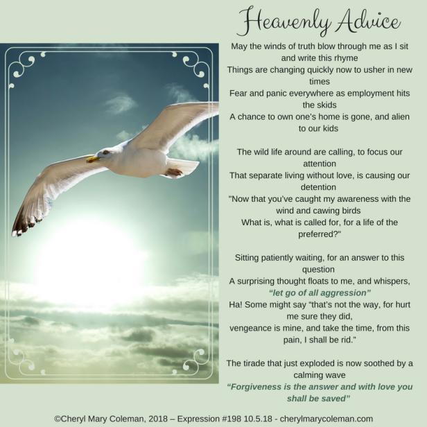 Heavenly Advice